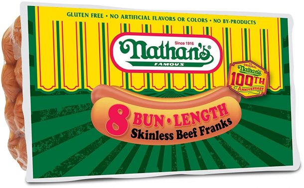 Nathan's Best Hot Dog Brand