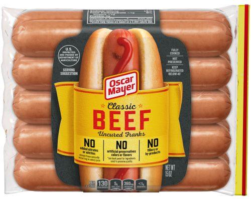 Oscar Mayer Best Hot Dog Brand