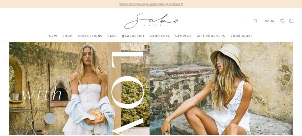 SAbo - website like zara
