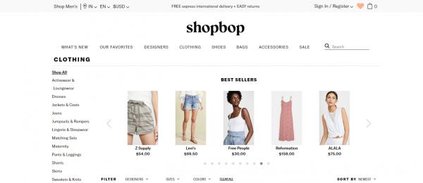 Shopbop Poshmark Alternative