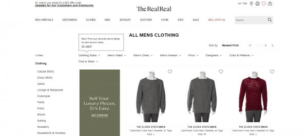 The RealReal: Alternative To PoshMark