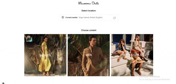 massimodutti - website like zara