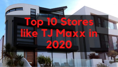 Top 10 Stores like TJ Maxx in 2020