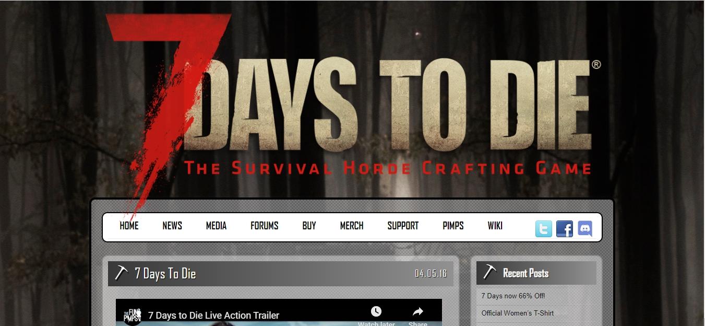 7 Days to Die game
