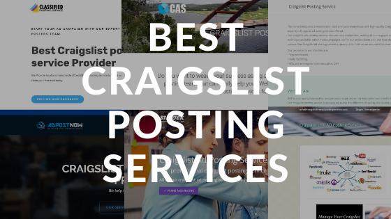 Best Craigslist Posting Services