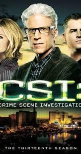 Csi: Crime Scene In vestigation Series movie poster