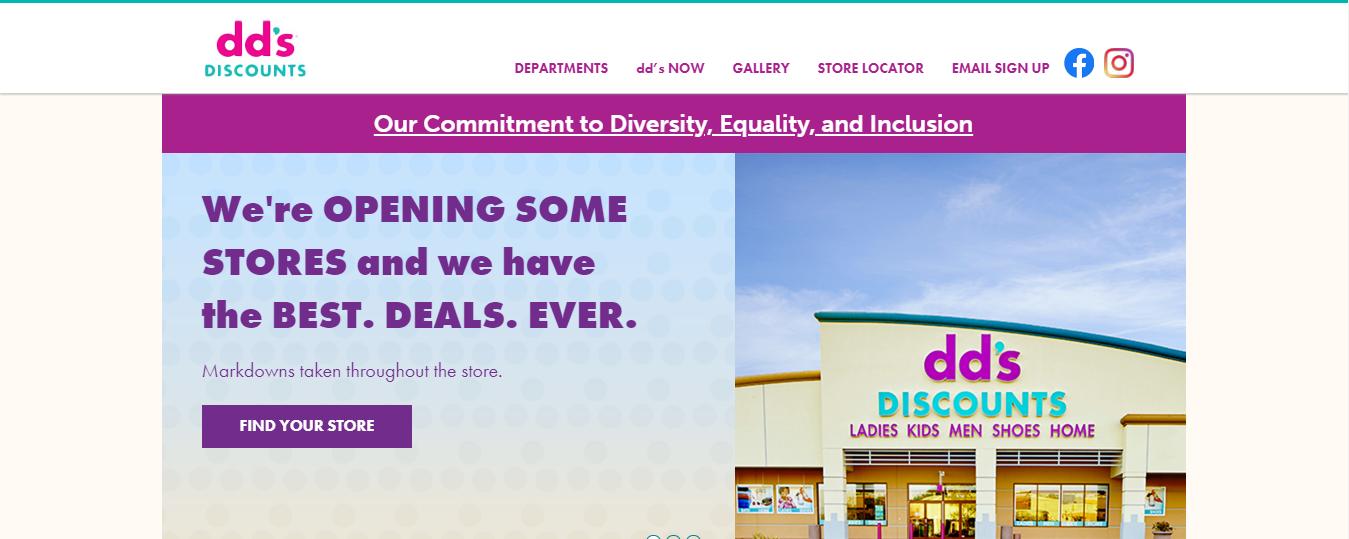 DD's Discounts.