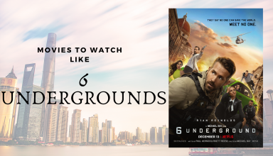 Best MOVIES TO WATCH IF YOU LOVED 6 UNDERGROUND