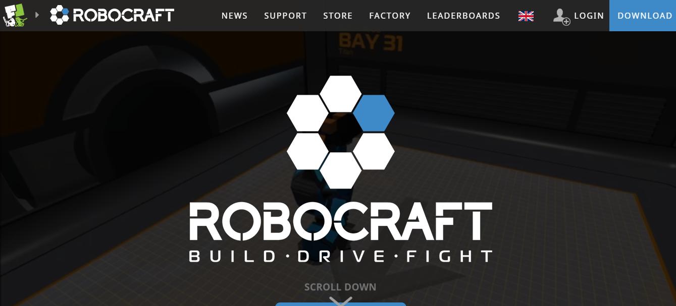 Robocraft game