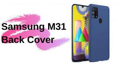 Samsung M31 Back Cover