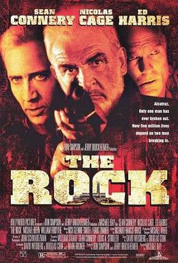 The Rock movie posture