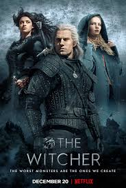 The Witcher movie poster