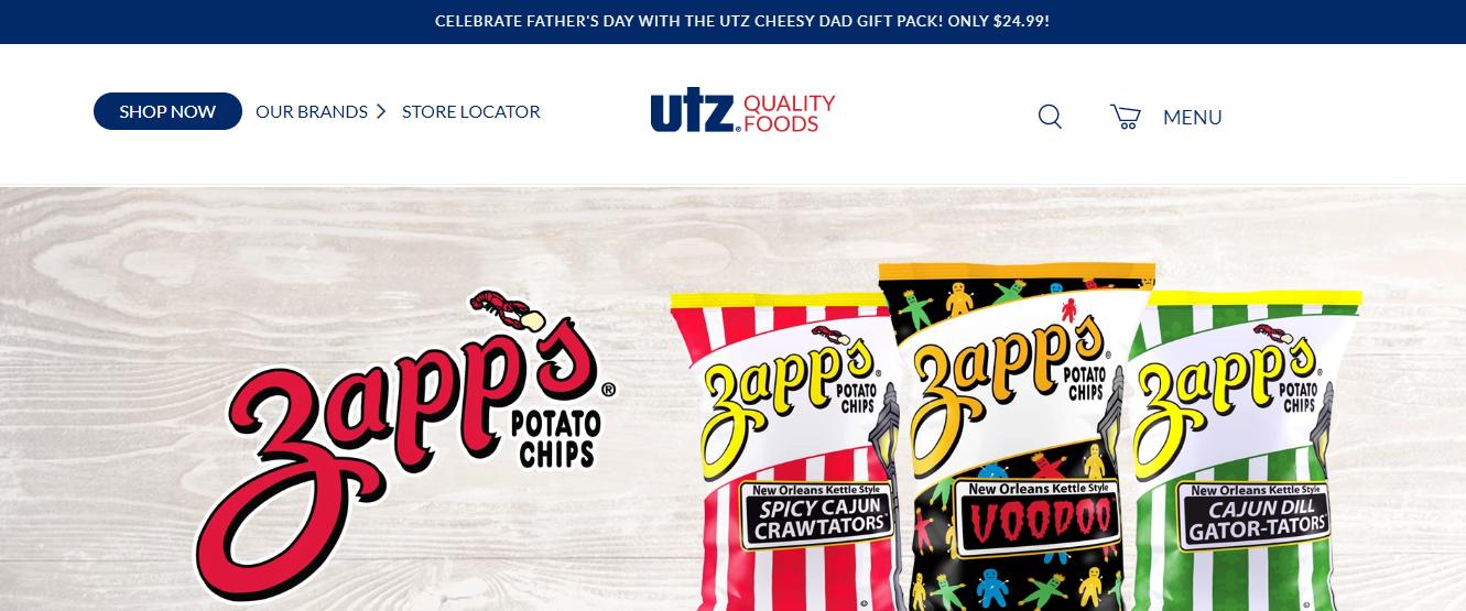 Zapp's chips