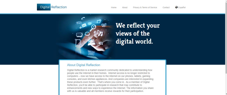 digital reflection