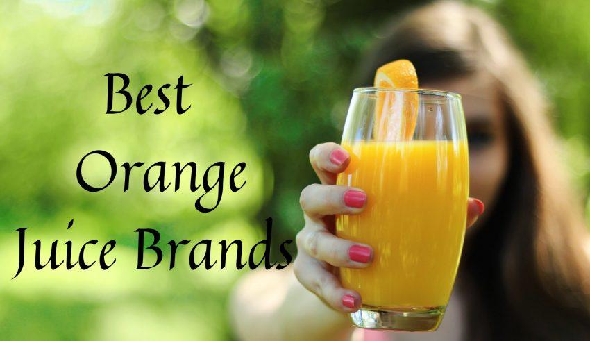 Best Orange Juice Brands