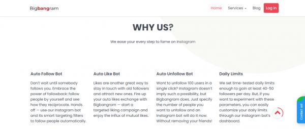 BigBangram: Best Tool For Instagram Automation