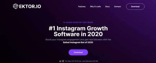 Ektor.io: Best Tool For Instagram Automation