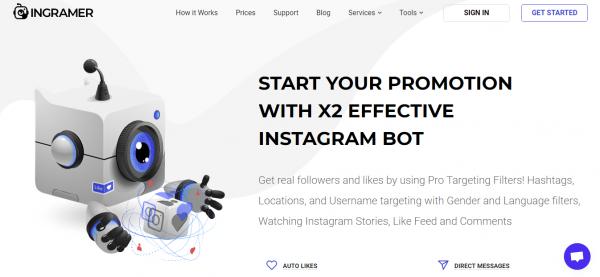 Ingramer: Best Tool For Instagram Automation