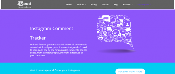 Instazood: Comment Tracker