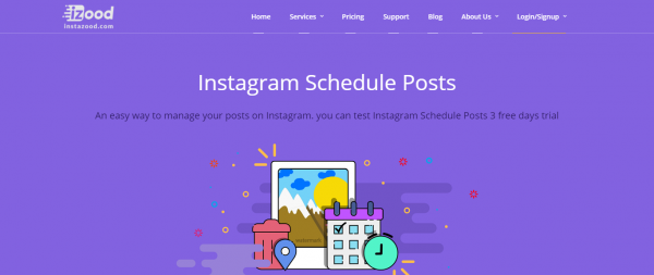 Instazood: Post Scheduling