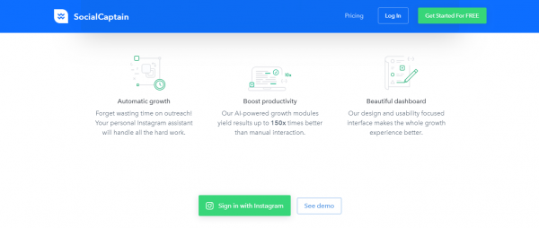 SocialCaptain: Best Tool For Instagram Automation