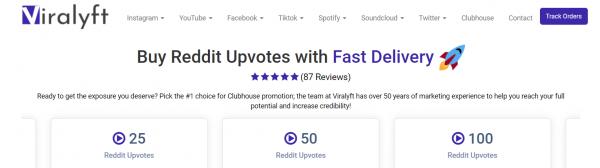 Viralyft - buy reddit upvotes