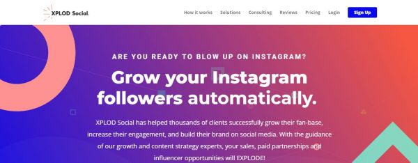 XPLOD Social: Best Tool For Instagram Automation