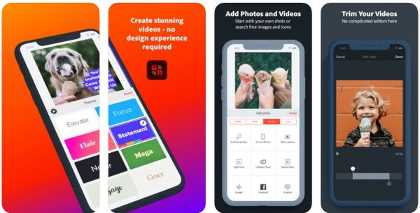 Adobe Spark App