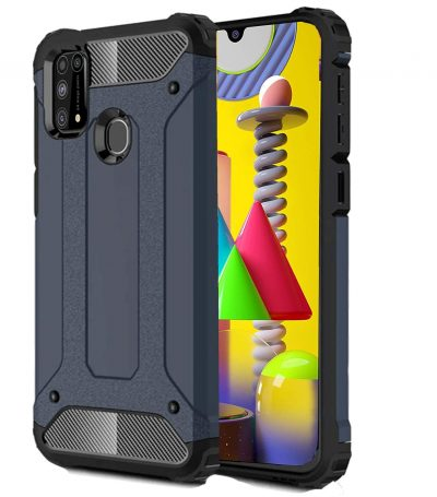 KAPAVER® Rugged Back Cover Case (Only for Galaxy M31): Best Cover For Samsung M31