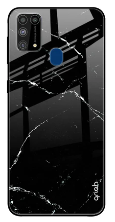 Mirror Crack Pattern Glass case: Best Cover For Samsung M31