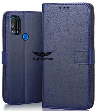 SHINESTAR. Back Cover (Blue): Best Cover For Samsung M31