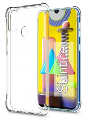 Skintice™ Air Cushion Technology TPU Back Cover: Best Cover For Samsung M31