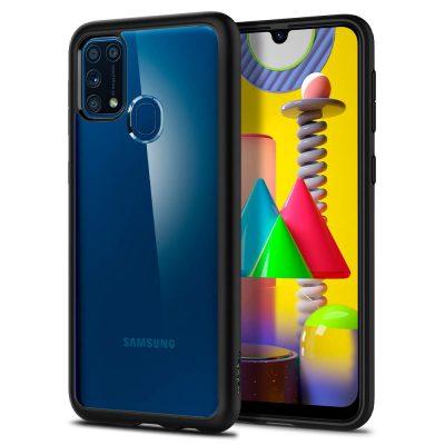 Spigen Ultra Hybrid Back Cover Case - Matte Black: Best Cover For Samsung M31