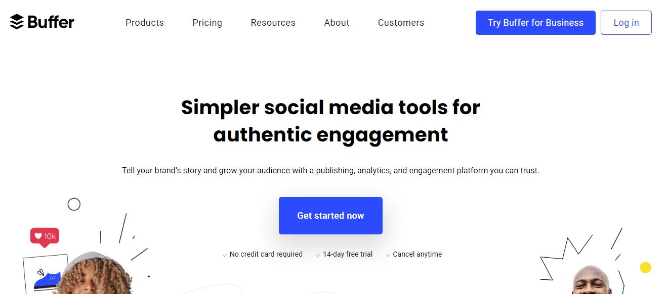 Buffer- facebook growth tool