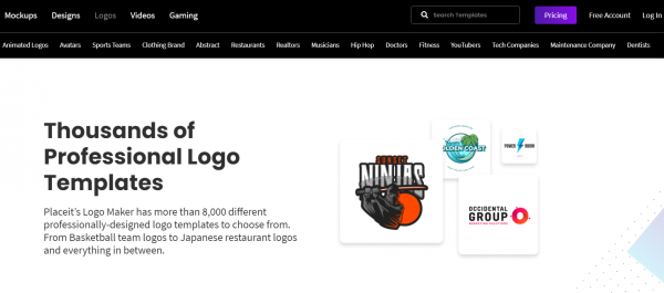 logo maker on Placeit