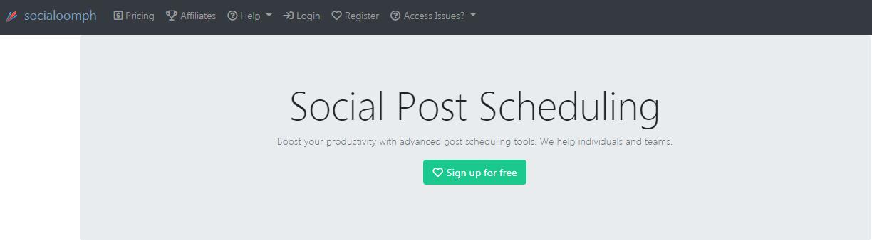 social oomph - facebook growth tool