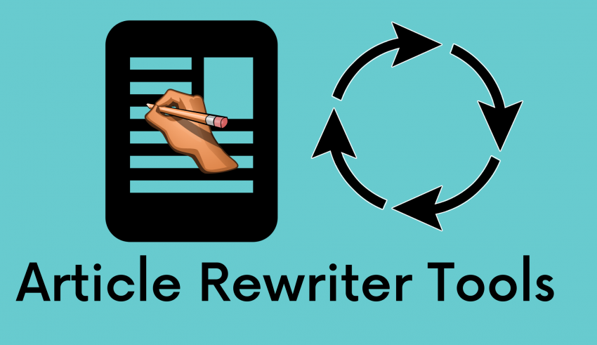 Article Rewriter Tools