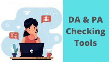 DA & PA Checking Tools