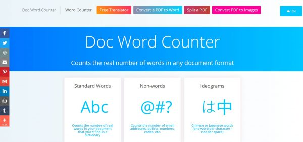 Docwordcounter