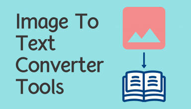 Image To Text Converter Tools