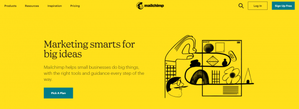 MailChimp - best email scheduling tool