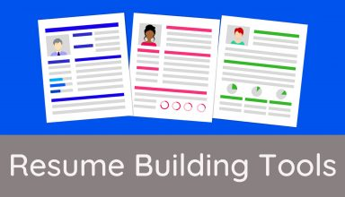 Resume Building Tools