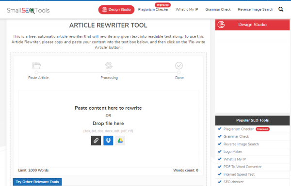 SmallSEOtool Article Rewriter - best tool for rewriting the article.png