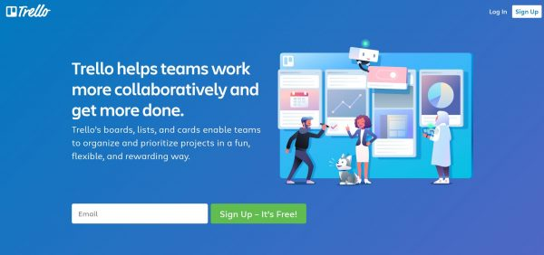 Trello - Team Management Software