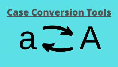Case Conversion Tools