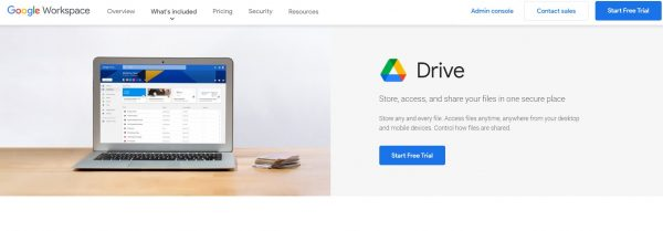 G Suite Google Drive - file transfer tool