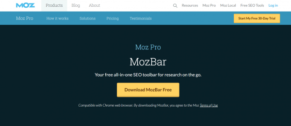 Moz: Seo Software