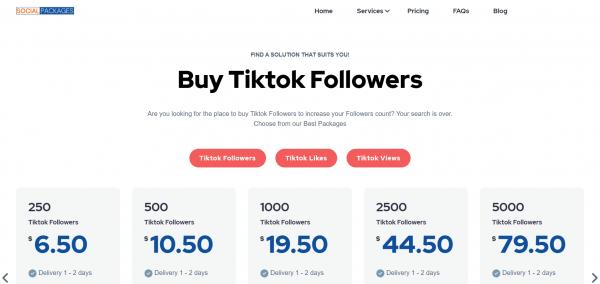 Socialpackages - Buy Tiktok Followers