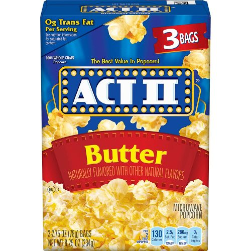 ACT II Butter Microwave Popcorn: Popcorn Kernel