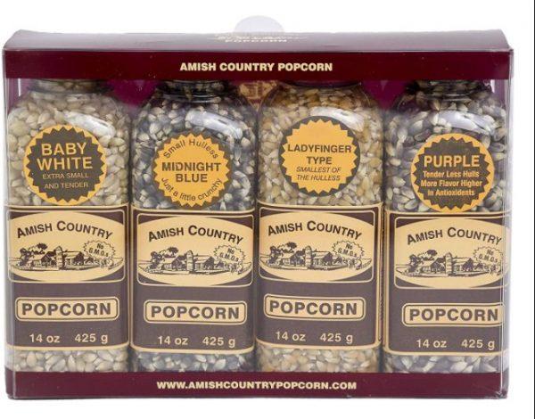 Amish Country Popcorn | Popcorn Kernel Variety Set: Popcorn Kernel